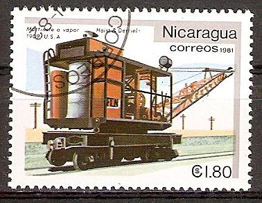 Nicaragua 2234 o Schienenkran USA (2015863)