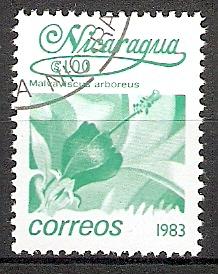 Nicaragua 2368 o Malvaviscus arboreus (2015344)