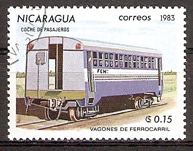 Nicaragua 2387 o Personenwaggon (2015858)