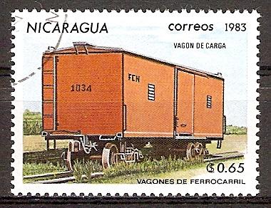 Nicaragua 2388 o Geschlossener Güterwaggon (2015859)