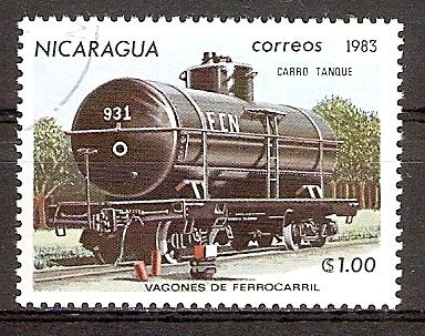 Nicaragua 2389 o Tankwaggon (2015857)