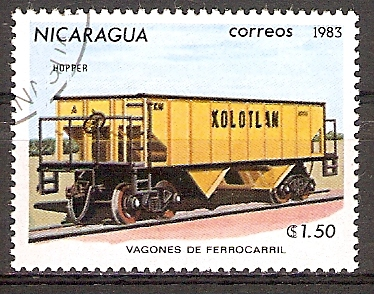Nicaragua 2390 o Massengutwaggon (2015861)