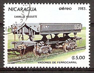 Nicaragua 2392 o Kippwaggon (2015860)