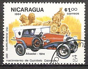 Nicaragua 2513 o Abadal 1914 (2018104)