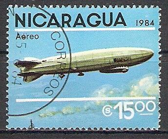 "Nicaragua 2520 o Luftschiff LZ 120 ""Bodensee"" (2017457)"
