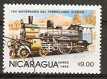 Nicaragua 2581 o Deutsche Dampflok (2015853)
