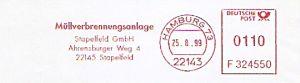 Freistempel F324550 Hamburg - Müllverbrennungsanlage (#324)