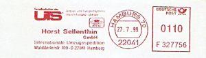 Freistempel F327756 Hamburg - Spedition Sellenthin (#319)