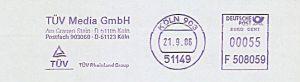 Freistempel F508059 Köln - TÜV Media GmbH (#212)