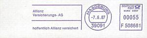 Freistempel F508681 Magdeburg - Allianz Versicherung (#84)