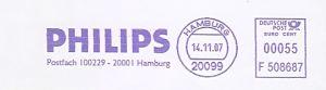 Freistempel F508687 Hamburg - PHILIPS (#365)