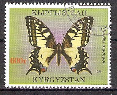 Kirgisistan 135 o Schwalbenschwanz (201748)