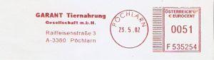 Freistempel Österreich F535254 Pöchlarn - GARANT Tiernahrung (#373)