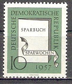 DDR 598 ** Sparwochen 1957 (2017495)