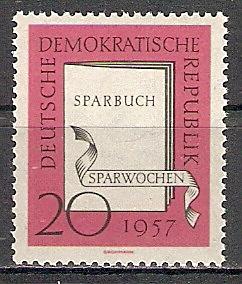 DDR 599 ** Sparwochen 1957 (2017496)