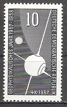 DDR 603 ** Erdsatellit Sputnik I 1957 (2017498)