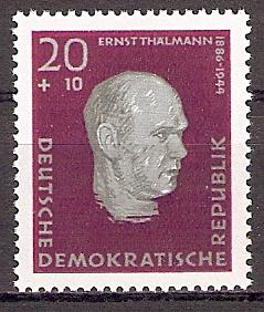 DDR 606 A ** Ernst Thälmann 1957 (2018288)