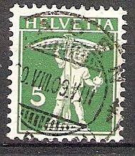 Schweiz 113 I o Tellknabe 1909 (201887)