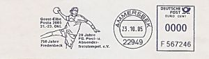 Freistempel F567246 Ammersbek - 20 Jahre FG Freistempel (Abb. Handballspieler) (#244)