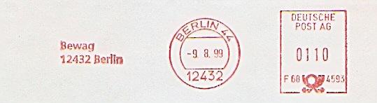 Freistempel F68 4593 Berlin - Bewag (#146)