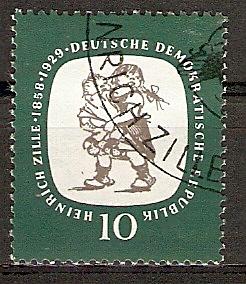 DDR 624 o Heinrich Zille 1958 (2015745)