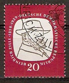DDR 625 o Heinrich Zille 1958 (2015746) 0