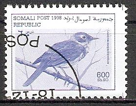 Somalia aus 1998 o Nachtigall (2015404)