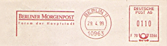 Freistempel F70 3266 Berlin - Berliner Morgenpost (#394)