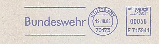 Freistempel F715841 Stuttgart - Bundeswehr (#346)