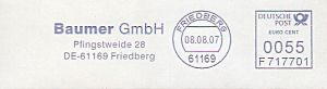 Freistempel F717701 Friedberg - Baumer GmbH (#12)