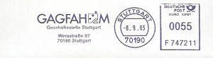 Freistempel F747211 Stuttgart - GAGFAH (#59)