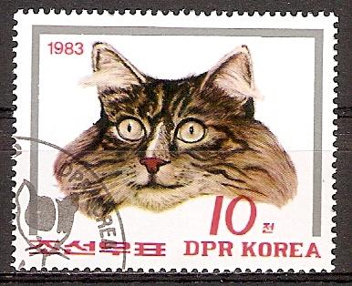 Korea-Nord 2433 o Katze (20151099)