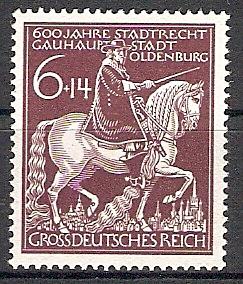 Deutsches Reich 907 ** 600 Jahre Stadt Oldenburg (2017344)