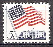 USA 838 x ** Flagge und Weißes Haus (20187)