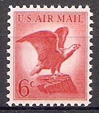 USA 844 x ** Adler auf Felsenklippe (20181)