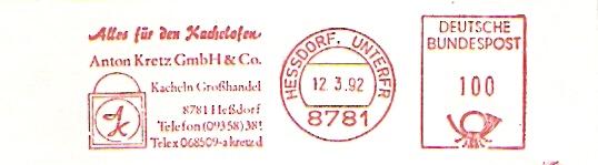Freistempel Hessdorf - Kretz Kachelöfen (#375)