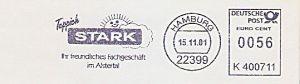 Freistempel K400711 Hamburg - Teppich Stark (#208)
