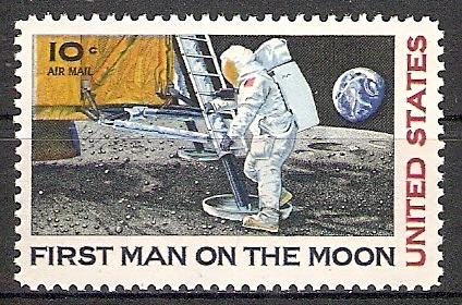 USA 990 ** Astronaut Neil Armstrong (2017321)