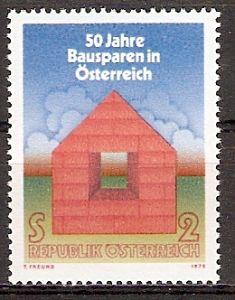 Österreich 1497 ** Bausparen in Österreich (20151082)