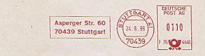 Freistempel F76 4446 Stuttgart - JVA (#234)