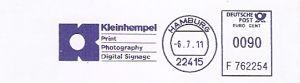 Freistempel F762254 Hamburg - Kleinhempel (#364)