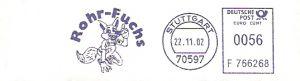 Freistempel F766268 Stuttgart - Rohr-Fuchs (Abb. Fuchs) (#75)