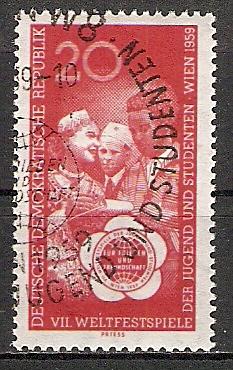 DDR 705 o Weltfestspiele der Jugend 1959 (2015427)