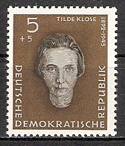 DDR 715 ** Tilde Klose 1959 (2015422)