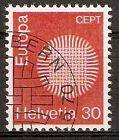 Schweiz 923 o Europa CEPT 1970 (2015816)