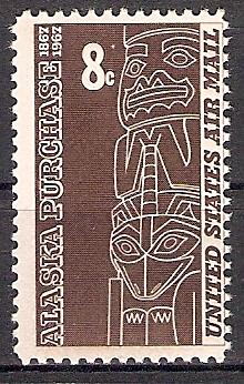 USA 918 ** 100. Jahrestag des Erwerbs von Alaska (201815)