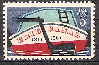 USA 923 ** Eröffnung des Erie-Kanals (20188)