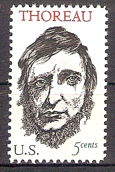 USA 925 ** Henry David Thoreau (201810)
