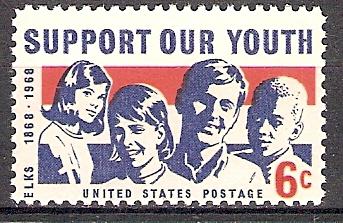 USA 947 ** Unterstützt unsere Jugend (201824)