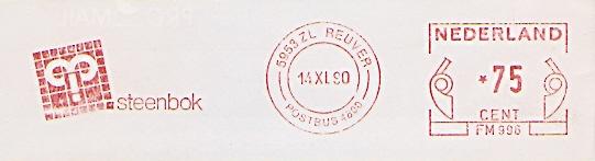 Freistempel Niederlande FM 996 Reuver - steenbok (#241) 0